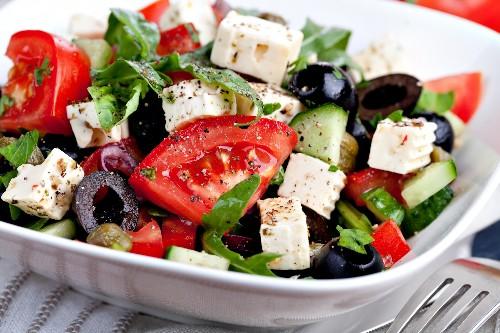 Греческий салат картинки