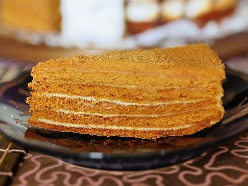 случайной медовый торт со сгущенкой рецепт с фото этого станет