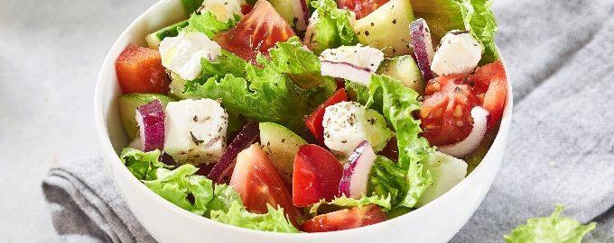 Классический греческий салат – 10 пошаговых рецептов с фото