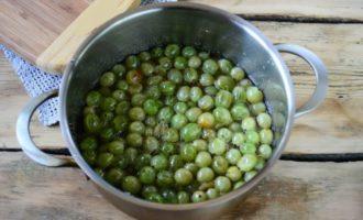 Варенье из крыжовника без сахара на зиму пошаговый рецепт приготовления