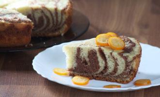 Пирог Зебра рецепт с фото пошагово в домашних условиях