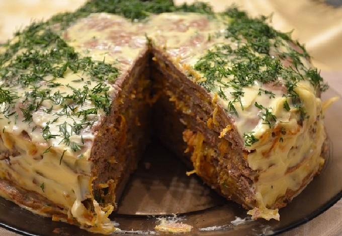 Торт печеночный без яиц — Рецепты на все вкусы
