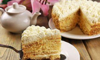 Торт «Молочная девочка»