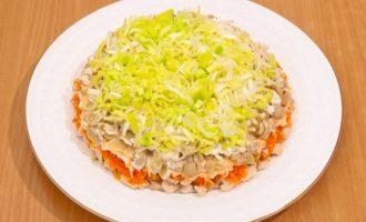 Салат подсолнух с чипсами рецепт