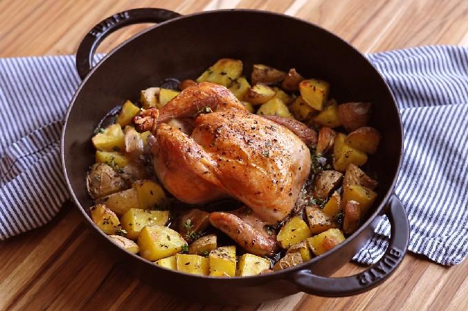 Утка в духовке с картошкой по рецепту с фото