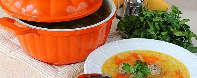 Суп с фрикадельками – 10 пошаговых рецептов с фото