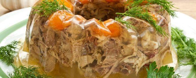 Заливное из курицы – 10 простых и вкусных рецептов с фото пошагово