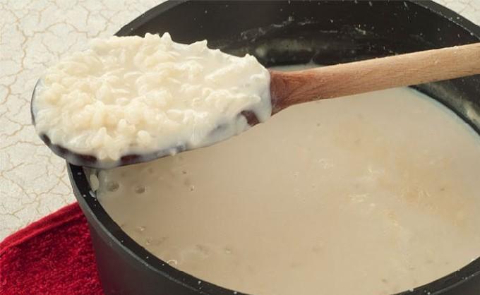 Рисовая каша на молоке на плите рецепт