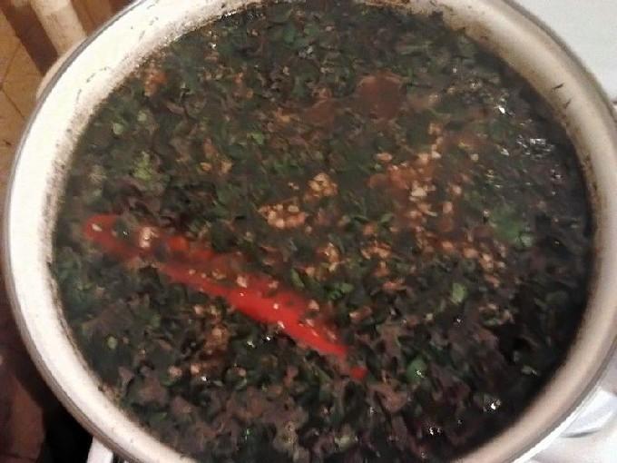 Суп харчо с говядиной классический