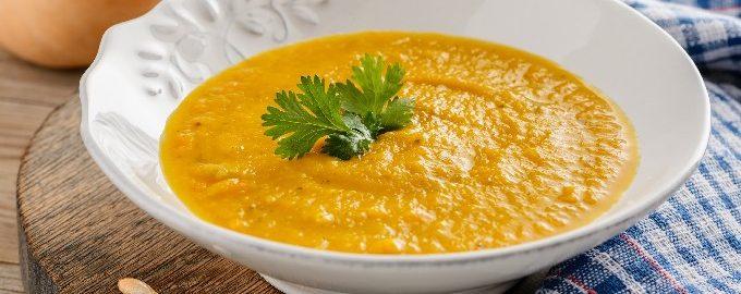 Тыквенный суп-пюре классический