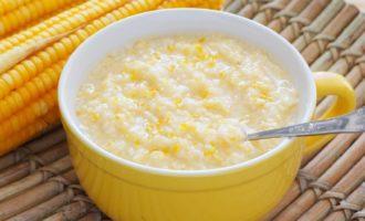 Как варить кукурузную кашу на молоке