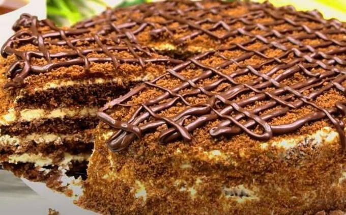 Торт «Спартак» классический рецепт пошаговое приготовление от Шоколад.Тудей