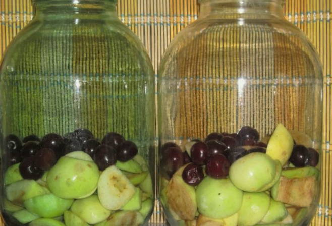 Компот из вишни - 10 рецептов на зиму с фото пошагово